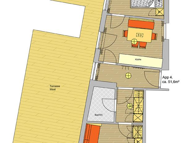 Appartement Kaiser Franz App 4