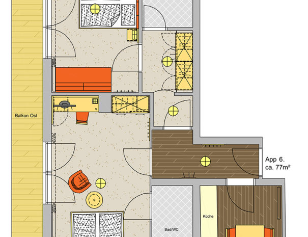 Appartement Kaiser Franz App 6
