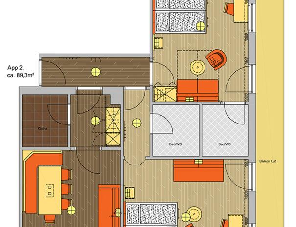 Appartement Kaiser Franz App 2
